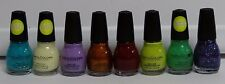 Lot of 8 Sinful Colors Professional Nail Polish Assorted Colors & Glow in Dark
