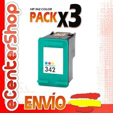 3 Cartuchos Tinta Color HP 342 Reman HP Photosmart C3180