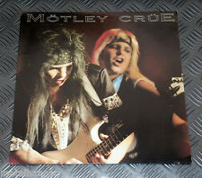 Motley Crue 'The Devil' Live in Fresno California USA 85 Vinyl Record LP Rare NM