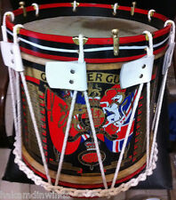 "Grenadier Guards Drum Military Heritage 14"" inch Rope Tension Snare BARND NEW"