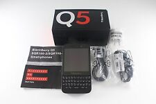 New BlackBerry Q5 Black 8GB Unlocked 4G LTE 5MP Camera WiFi GPS GSM