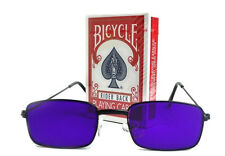 Reader Sunglasses Special Mark + Deck Marked Cards Red Bicycle Original Magic