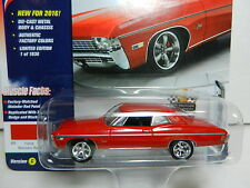 2016 Johnny Lightning *MUSCLE CARS USA 2C* Red 1968 Chevrolet Impala  NIP
