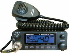 PRESIDENT JOHNNY III USA CB RADIO PRO TUNED AND ALIGNED 12 VOLT/24 VOLT, ASC