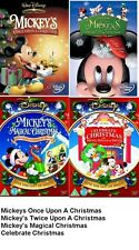 MICKEYS ONCE / TWICE UPON A / MAGICAL / CELEBRATE CHRISTMAS DVD Disney 4 Movies