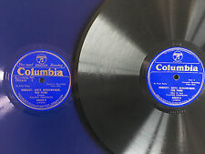 WALTER GIESEKING Debussy Suite Bergamasque for Piano COLUMBIA 68033-68034 2x12""