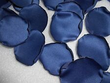 100 Navy Blue Flower Petals  Satin Rose Petals Wedding Petals