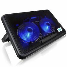AAB Cooling NC82 NOTEBOOK KÜHLER COOLER PAD LAPTOP 2-LÜFTER LED Ständer Kühlpad