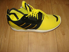 ADIDAS ORIGINALS MENS TRAINERS ZX 8000 BOOST YELLOW / BLACK SIZE 10 BNIB