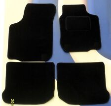 VW POLO 1998 - 2002 (ALL MODELS) BLACK QUALITY TAILORED CAR MATS
