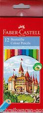 Lápices de colores Faber-Castell 12 x Estuche 111212 Lápiz