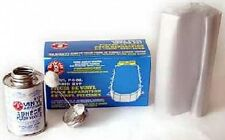 Boxer 4 oz Vinyl Swimming Pool Liner Repair Kit, New, Free Shipping