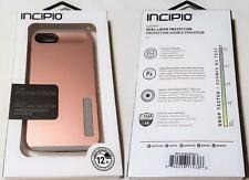 New Original INCIPIO DualPro Rose Gold / Gray Case Cover for iPhone SE 5S & 5
