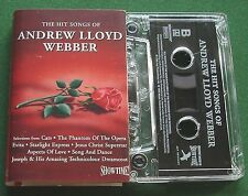 The Hit Songs of Andrew Lloyd Webber inc Memory + Cassette Tape - TESTED