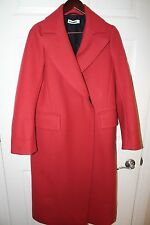 Jil Sander Full Length Wool Blend Winter Coat Size 36