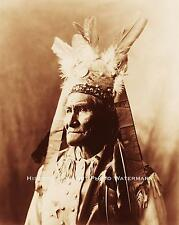 APACHE INDIAN WAR CHIEF GERONIMO VINTAGE PHOTO NATIVE AMERICAN OLD WEST #21565