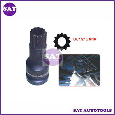 1/2 Dr M16 Transmission / Gearbox Socket for Audi A3, A4, A6 and Golf. F/H