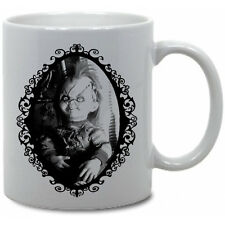 CHUCKY COFFEE MUG!! childs play horror doll killer slasher movie bride of chucky