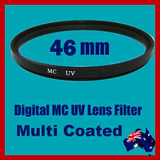 Premium Quality 46mm Digital MC Multi Coated UV Lens Filter Canon Nikon Sony