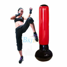 165CM Tall Inflatable Punching Bag Tower Fitness Exercise With Foot Pump