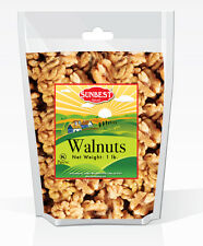SUNBEST Natural Shelled Walnuts 1 Lb in Resealable Bag