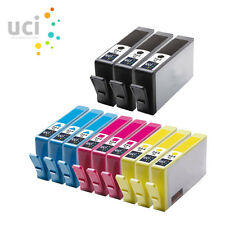 12 HP364XL CHIPPED Ink Cartridge for Photosmart 5510 5520 3520 6510 C6380 NonOEM