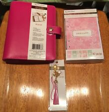 Recollections A6 Planner, With Inserts, Charm, And 12 Month Undated Calendar