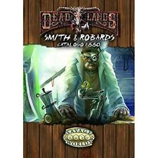SMITH & ROBOARDS catalogo 1880 per DEADLANDS Savage Worlds in italiano