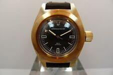 GERMANO & WALTER 500M BRONZE DIVER DEEP SEA SUBMERSIBLE STEEL LIMITED RARE