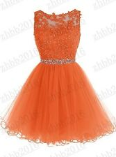 New Formal Short Evening Ball Gown Party Prom Bridesmaid Dress Stock Size 6-22