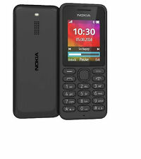 Nokia 130  Mobile Phone Black - RM-1037 2G video micro sd unlocked Brand new