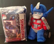 Transformers Twin Comforter Plush Doll NWT Reversible 2 Piece Set Extinction New