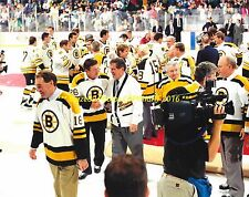 BOSTON GARDEN Farewell SKATE 4 BRUINS GREATS Last GAME EVER PLAYED 8x10 Photo~@@