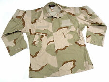 Desert RAID Modified DCU Combat Uniform Coat Shirt Large Regular Navy SEAL NSW