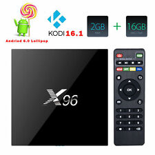 Amlogic S905X X96 2GB 16GB Android 6.0 Marshmallow KODI TV BOX 4K IPTV Decoder