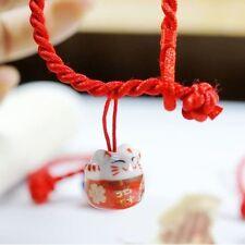 Lucky Cats Rabbit Bracelet Pottery Pendant Charm New