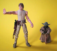 LUKE SKYWALKER & YODA • DAGOBAH TRAINING • C9 • STAR WARS VINTAGE COLLECTION