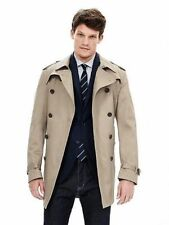 NWTS BANANA REPUBLIC $250.00 DOUBLE BREASTED TRENCH COAT LARGE