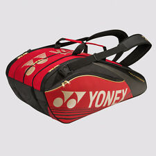 YONEX 9 Tennis/12+ Badminton Pro Thermal Racquet Bag 9629EX, Red, 2016 NEW