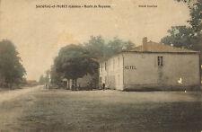 early 1900s - saugnac - et -muret -( landes ) route de bayonne