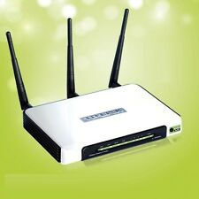TP-LINK TL-WR940N Wireless Router /4 port / wireless LAN n (300Mbps) / Antenna 3
