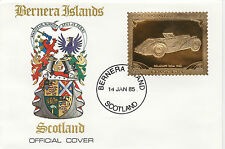 GB Locals - Bernera (2265) - 1985 Gold Cars  Delahave  on First Day Cover