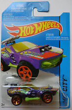 2014 Hot Wheels HW CITY Sting Rod II 55/250 (Purple Version)(Int. Card)