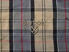 Men's Barbour Tartan Checked Longsleeve Shirt Size S Genuine Casual