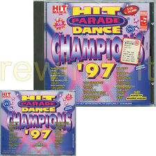 HIT PARADE DANCE CHAMPIONS '97 - RARO CD 1997 FUORI CAT (HIT MANIA)