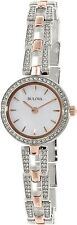 Bulova Women's 98L212 Silver Stainless-Steel Quartz Watch