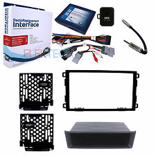 Radio Replacement Interface & Dash Kit 2-DIN for GM Vehicles with OnStar/Bose