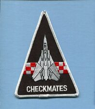 VF-211 CHECKMATES US NAVY GRUMMAN F-14 TOMCAT Fighter Squadron Jacket Patch