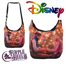 Loungefly Official Disney Tangled Rapunzel Boat Lantern Hobo Bag