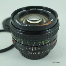 MINOLTA MD MC ROKKOR-X 50MM F1.4 FAST PRIME LENS *EXCELLENT CONDITION*